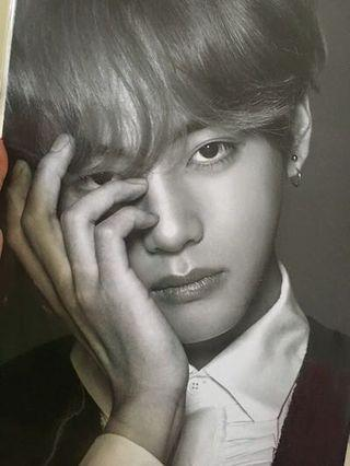 [LF/WTB] BTS WINGS THE FINAL TAEHYUNG PREMIUM PHOTO (OFFICIAL)