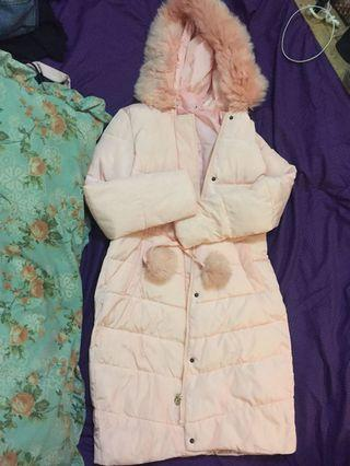 Winter Jacket Peach