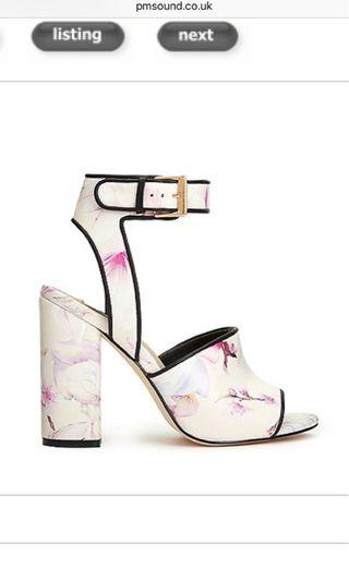 Miss Selfridge floral shoes