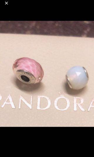 潘朵拉串珠9成新只有一個粉色