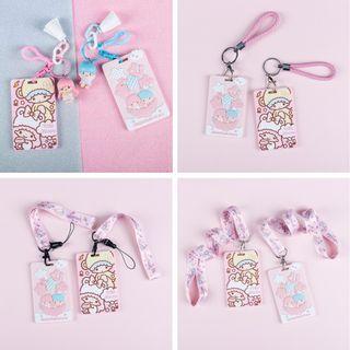 Little Twin Star  Ezlink/Card Keychain Holder