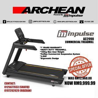 IMPULSE AC2990 Commercial Treadmill (Pulau Pinang)