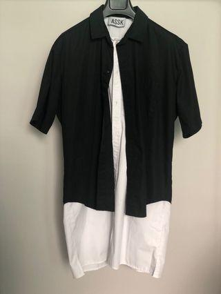 ASSK Paris double long shirt