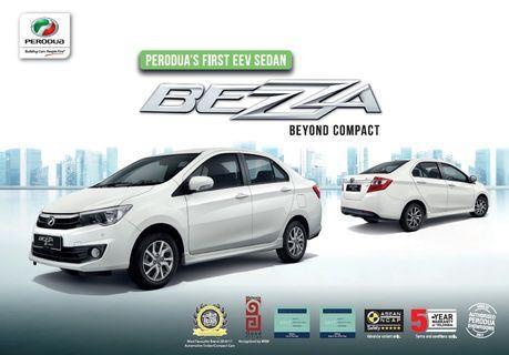 Perodua Bezza 1.3 Auto for Grab/MyCar Rent