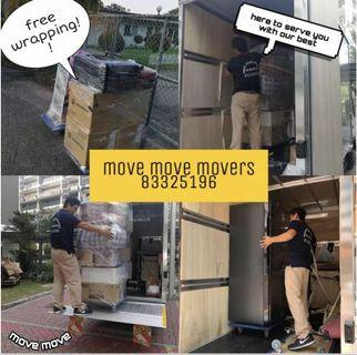 Move Move Movers (201921838k)professional mover house moving disposal office moving