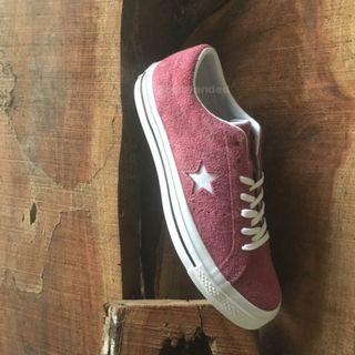 Converse Onestar Burgundy Red White