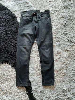 Zara Denim Black Jeans