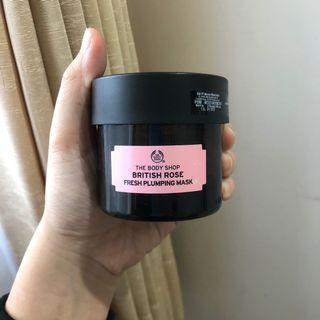 The Body Shop Mask british rose