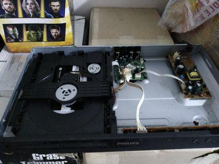 Philips dvd lens can use. Tray spoilt