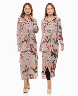 Roselle Button Dress (Pre-Order)