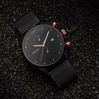 英國 Tayroc TXM098 玫瑰金 配色 手錶 手表 絕版 出清 特價