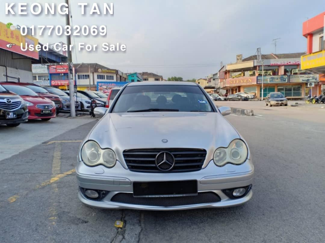 2004TH🚘 Mercedes Benz C200 AVANTGARDE🎉1.8(A) Cash💰OfferPrice💲Rm23,500 Only‼LowestPrice InJB 🎉📲 Keong‼🤗