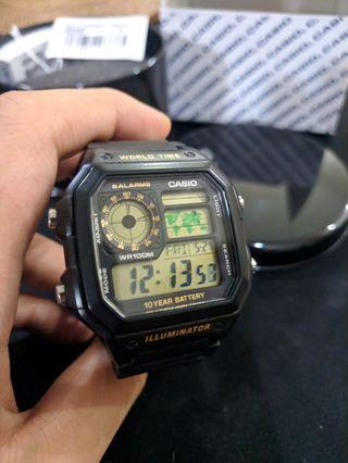 Jam Tangan Digital Casio AE-1200WH