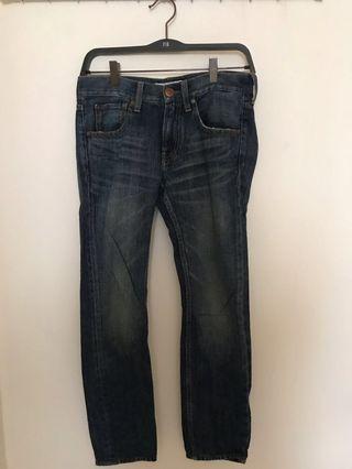 時尚韓版牛仔褲