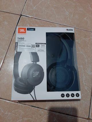 Headphone JBL T450 - Garansi Resmi 1 Tahun