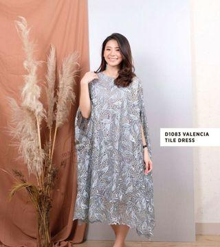 For Rent : Valencia dress in Dusty Blue