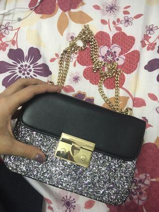 Charles and Keith Glitter Bag