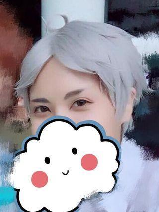 [Cosplay] Haikyuu Sugawara wig