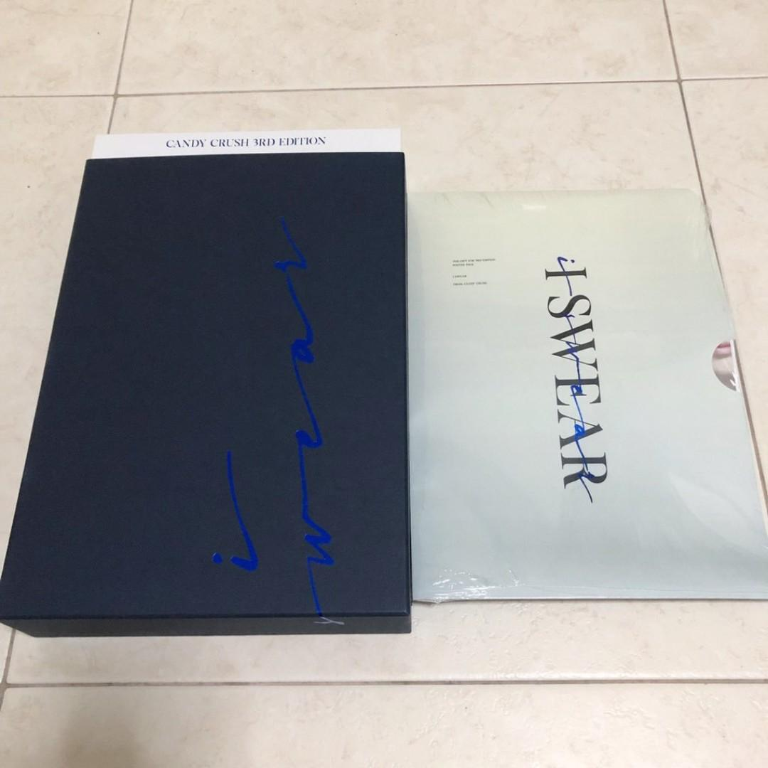 [ WTS / READYSTOCK ] candycrush0506 3rd EDITION I SWEAR — Photobook [FIRST PRESS]