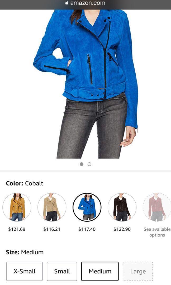 Leather jacket /  Suede jacket: genuine leather fall jacket