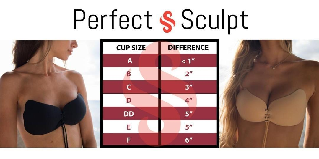 *Brand New* The Perfect Sculpt Strapless Push Up Bra