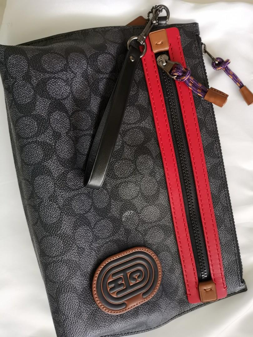 Coach Hand Carry Bag Men Luxury Bags Wallets Others On Carousell