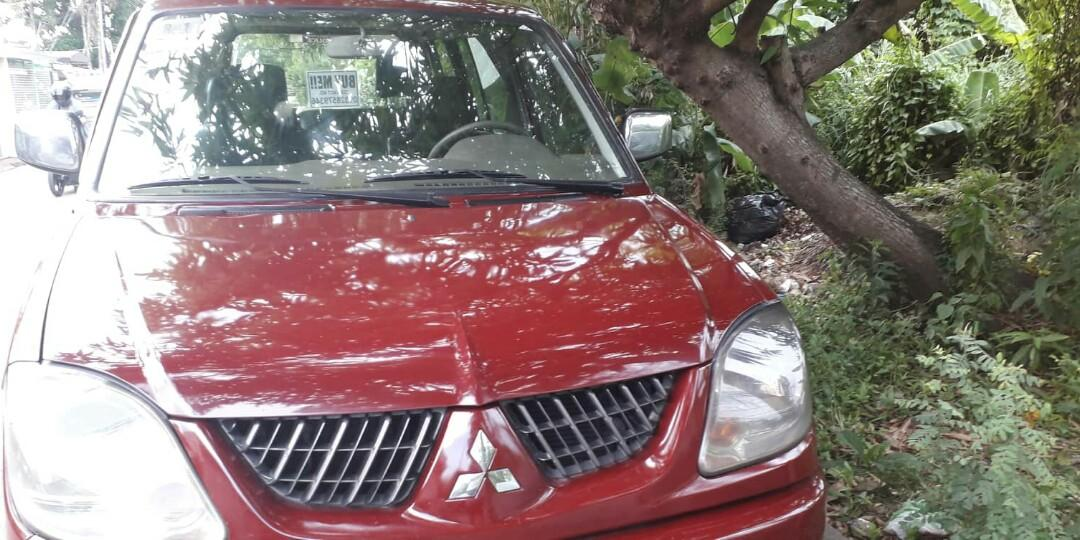 For SALE Mitsubishi Adventure GLX 2004/ Diesel manual/complete papers/good running condition/newly changed oil/ 280k(negotiable)