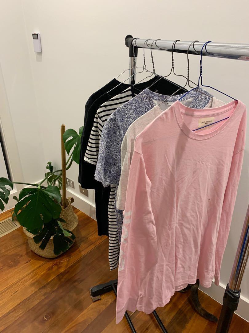 Heaps of men's size clothes T-shirt's for sale quicksilver