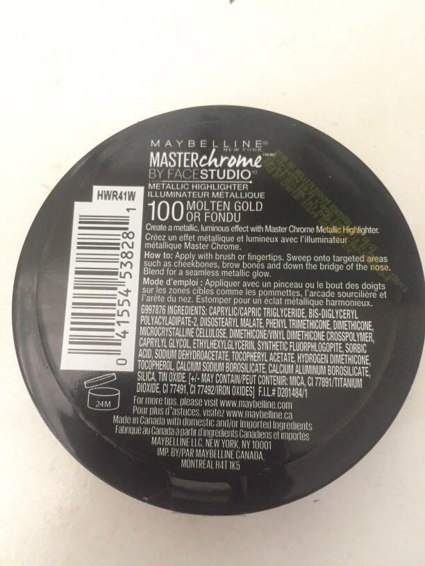 Highlighter Maybelline Masterchrome