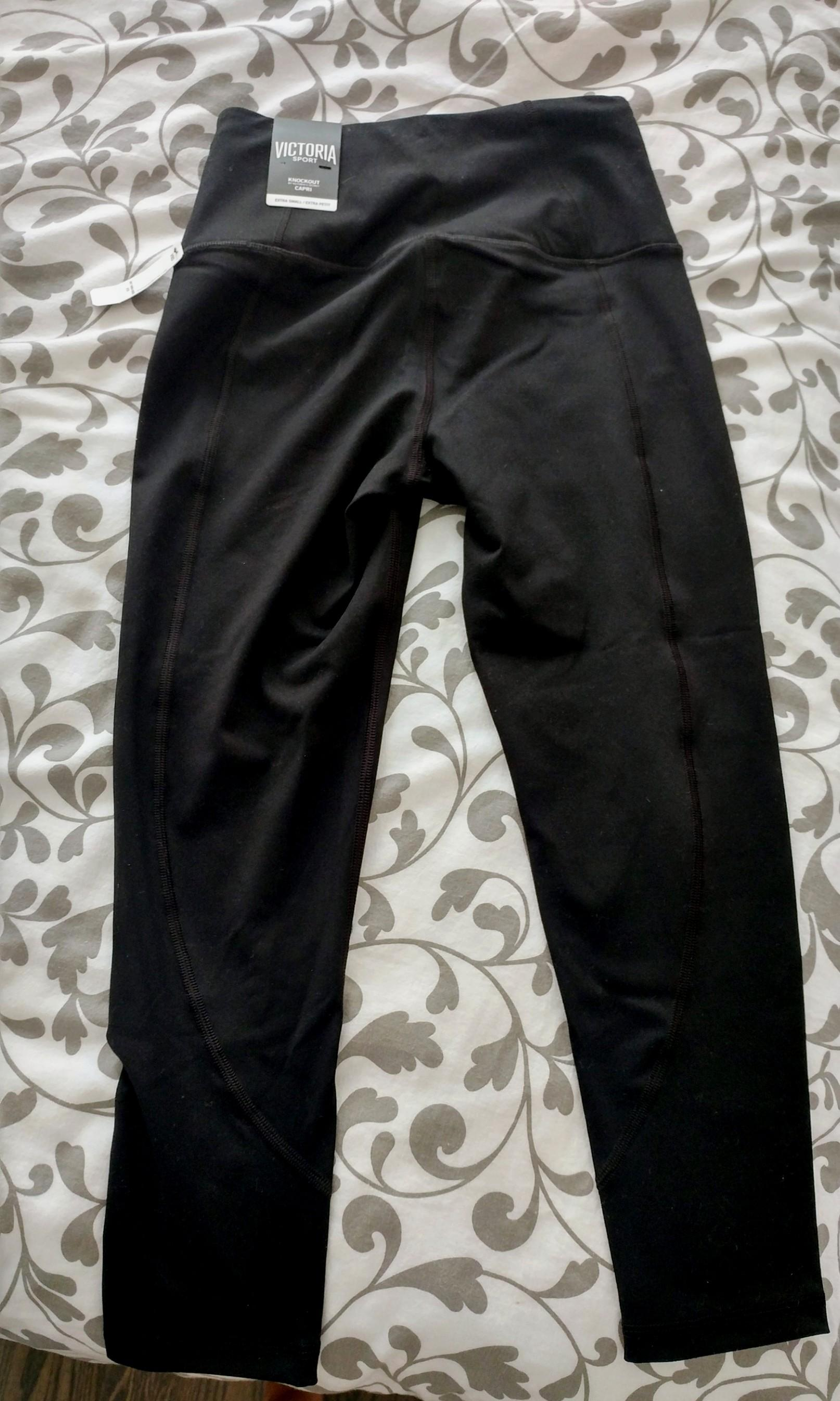 Highwaisted knockout capris from Victoria Secret Sport