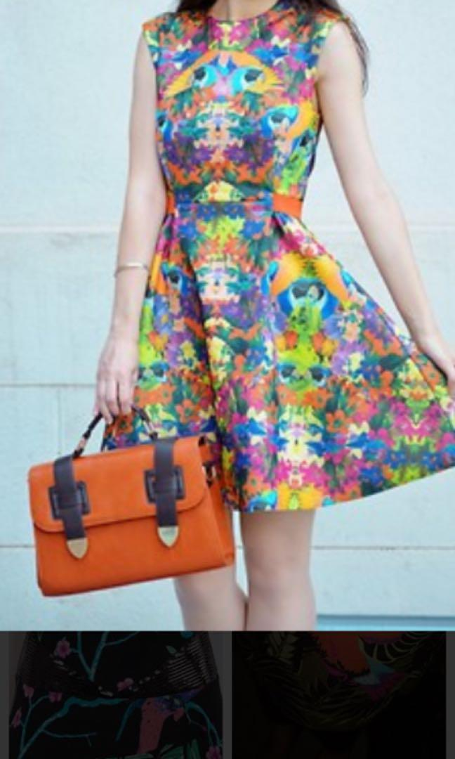 H&M studio dress