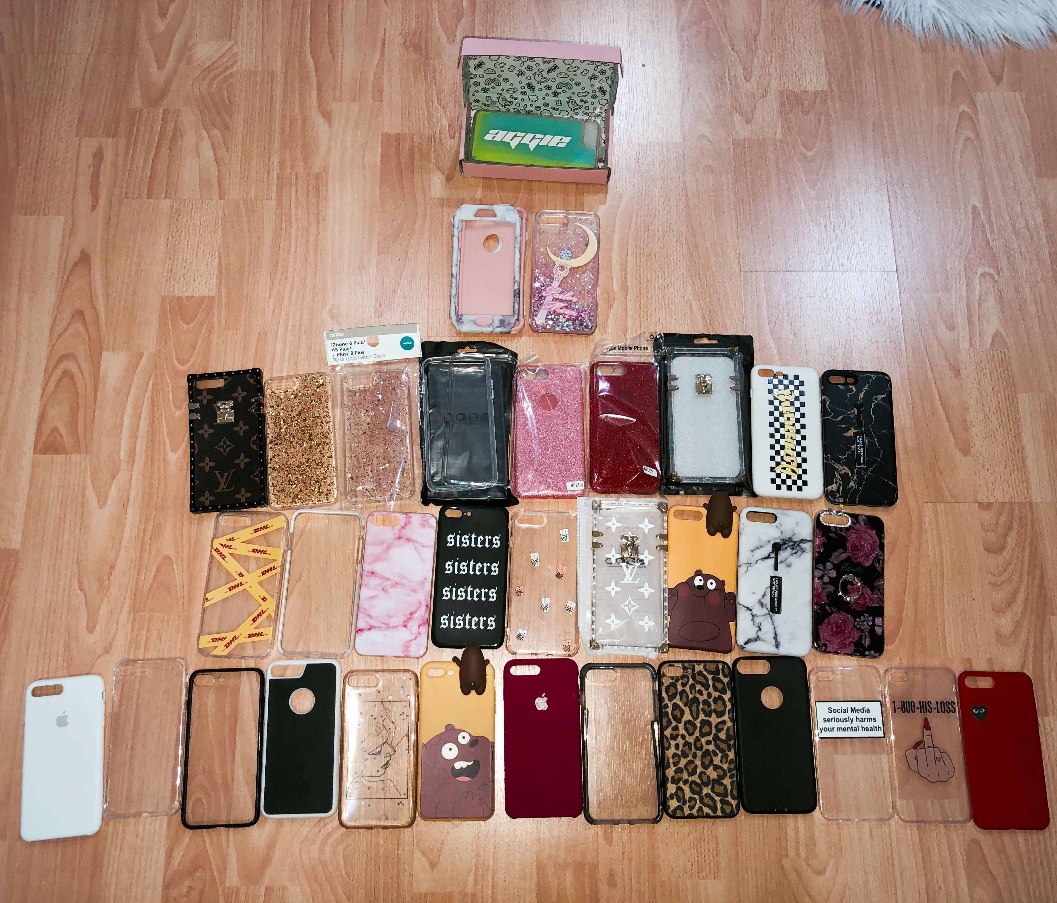 iPHONE 7/8 PLUS PHONE CASES 🤩🍭
