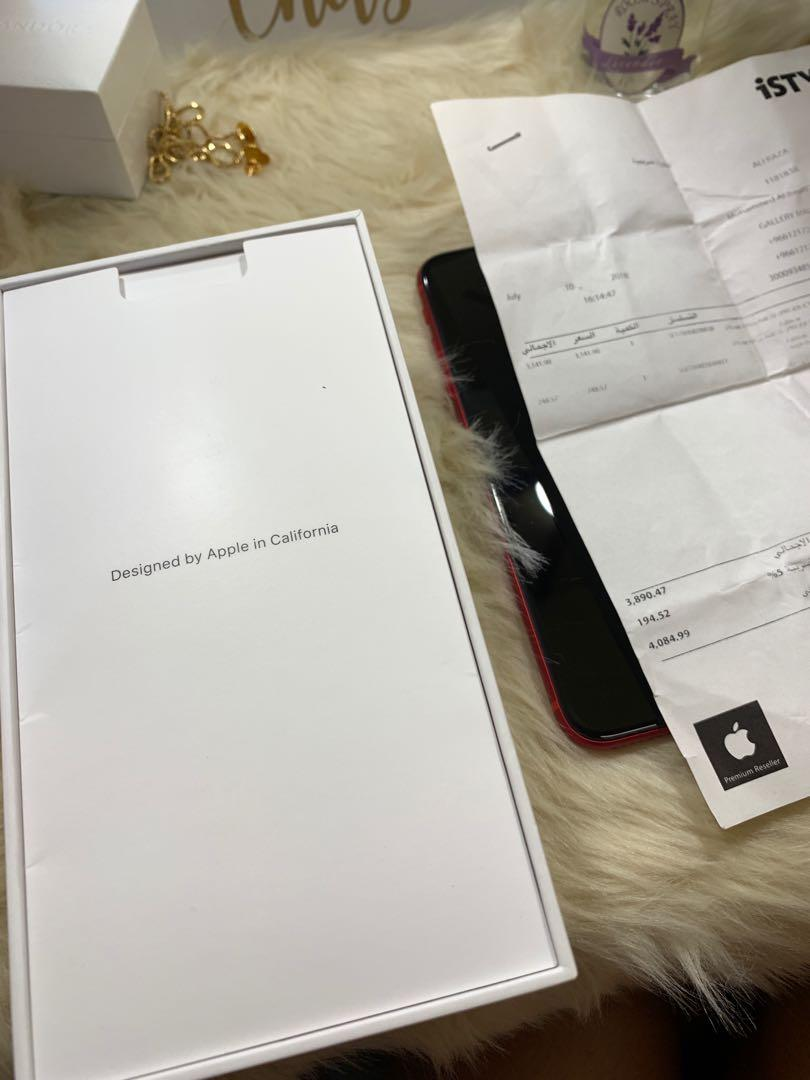 IPHONE 8 PLUS RED LIMITED EDITION