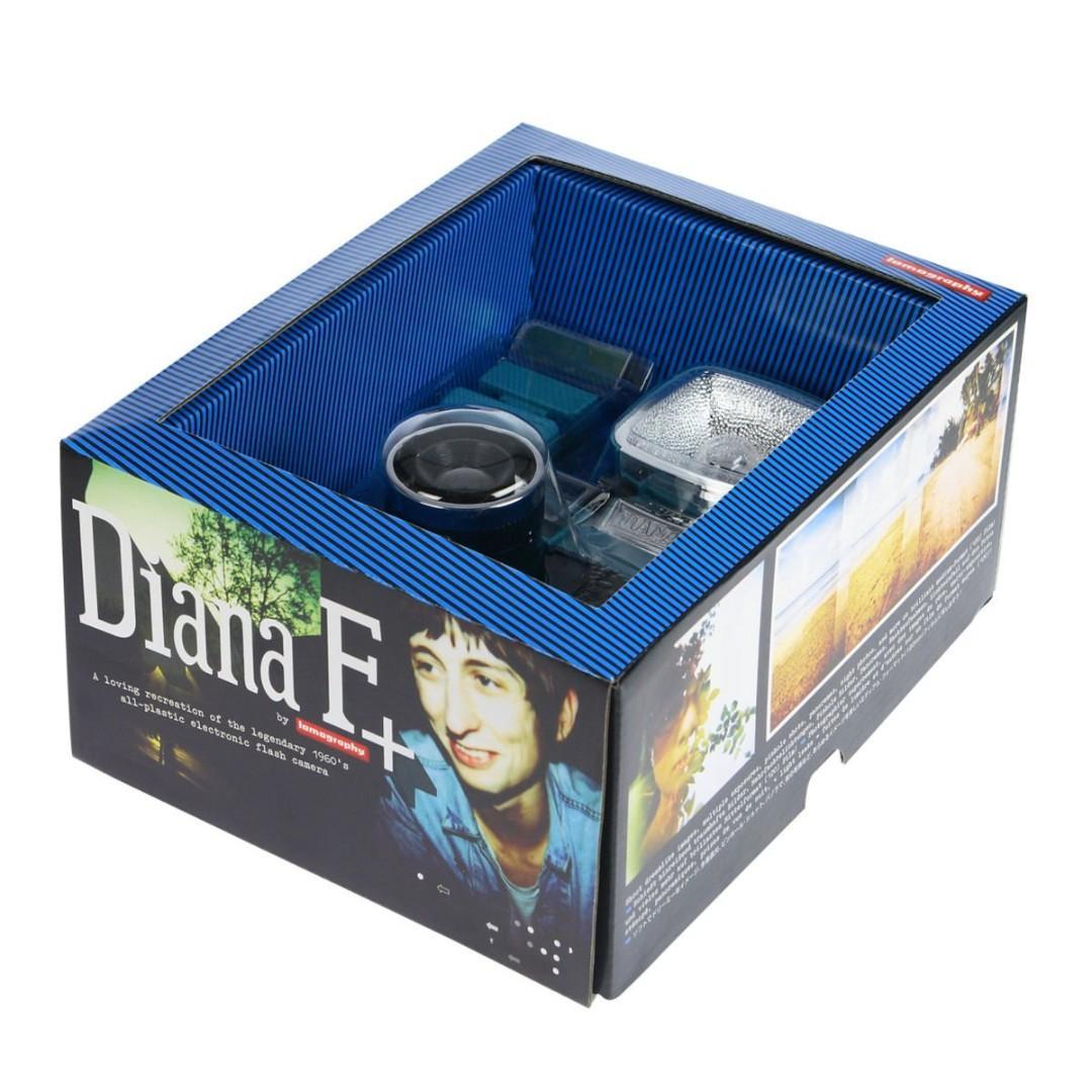 Lomography Diana F+ Flim Camera with Flash