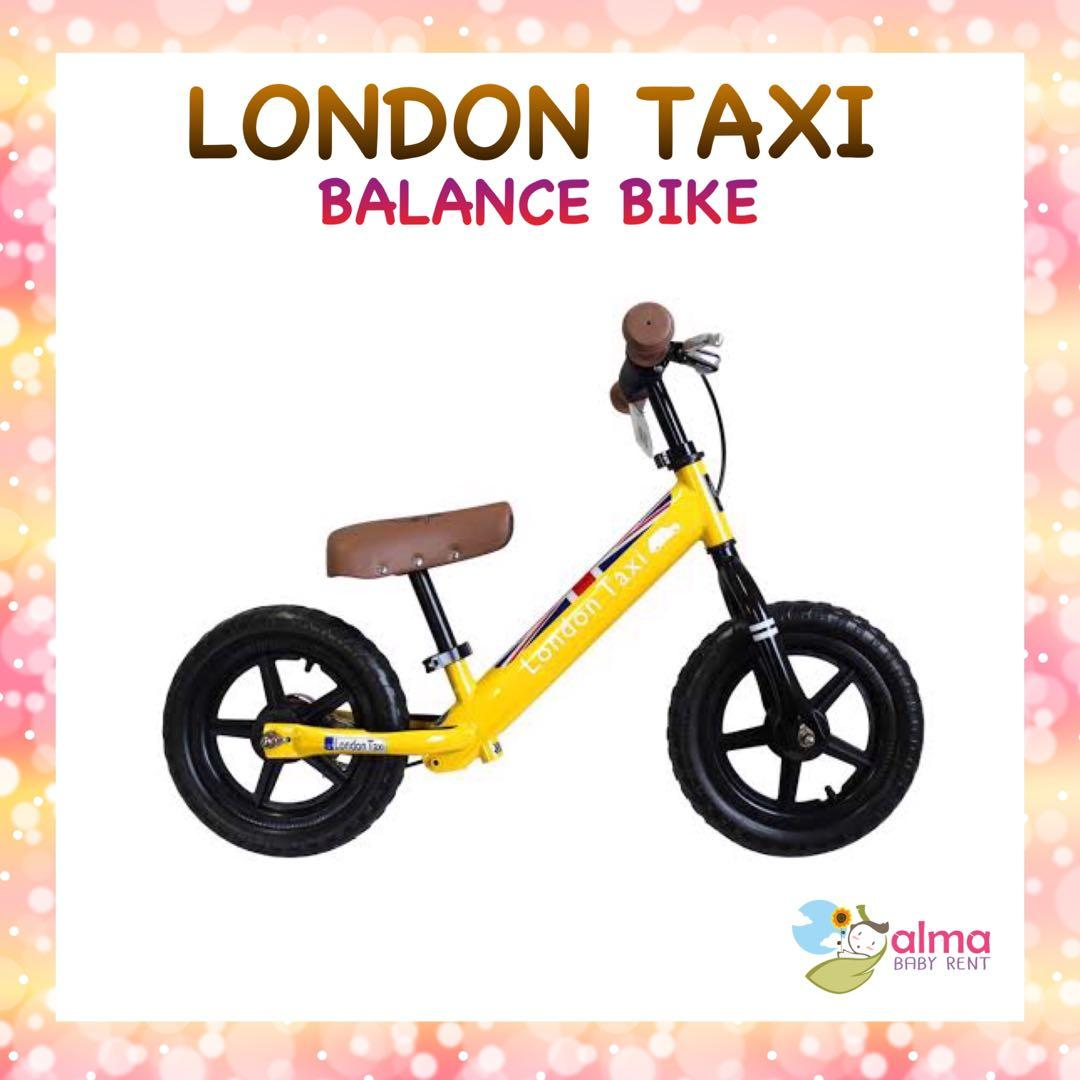 London Taxi Balance bike Sepeda anak