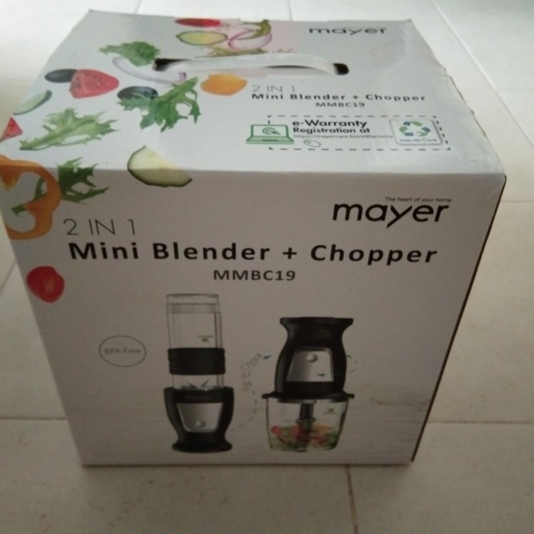 Mayer 2in 1 Mini blander and chopper