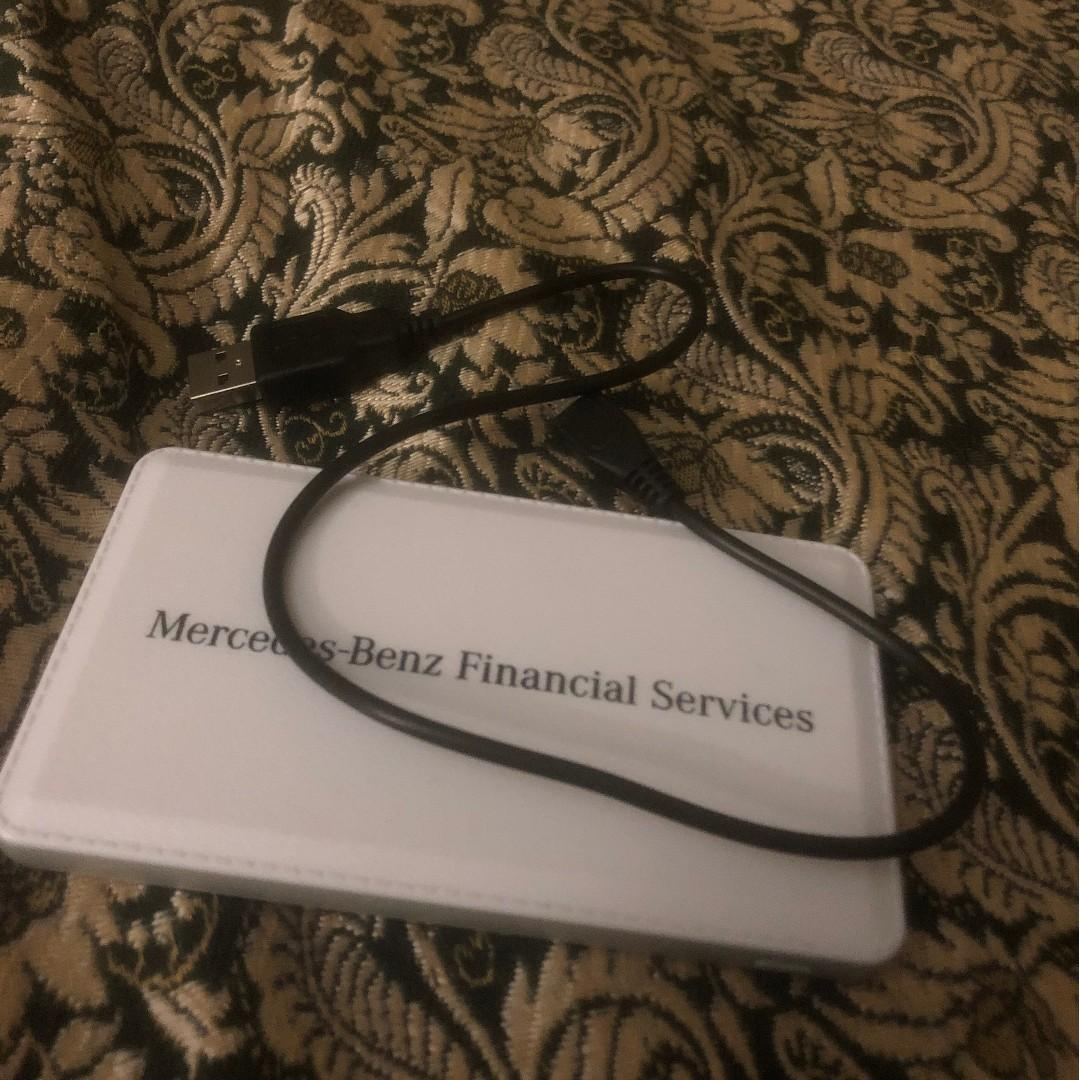 Mercedes Benz Financial Services Phone Charger Powerbank