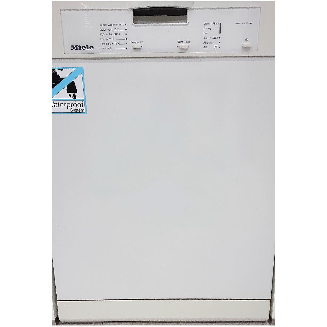 Final Reduction Miele Dishwasher G1142sc On Carou