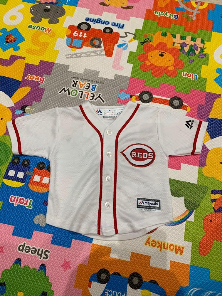 sports shoes e5b79 91c78 MLB Majestic Cincinnati Reds Jersey, Babies & Kids, Boys ...
