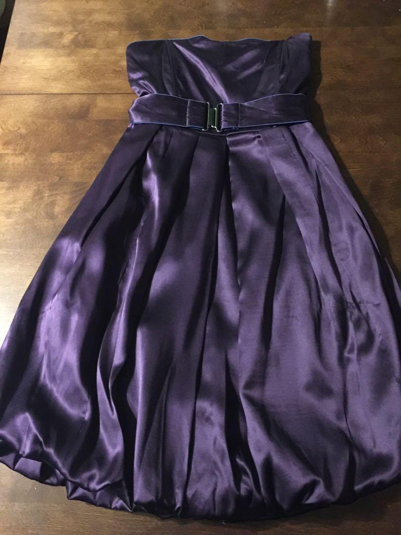 Party Dress / Prom dress / purple dress by Full Circle