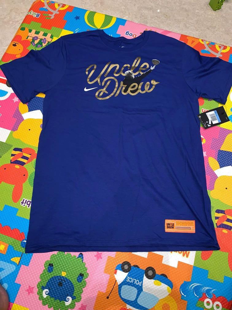 pretty nice 6d4af a0c08 Nike Kyrie Irving Uncle Drew T-shirt, Sports, Sports Apparel ...