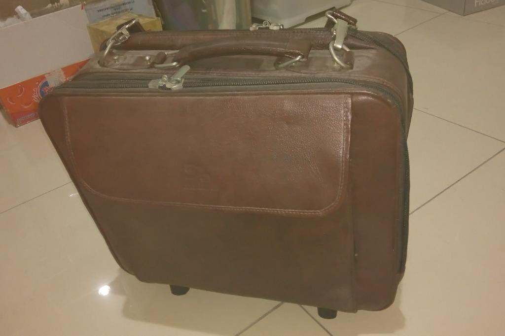 Tas Koper Kabin Bagasi Beroda Travel Luggage Bag With Wheel Merk Imazo Tali Selempang