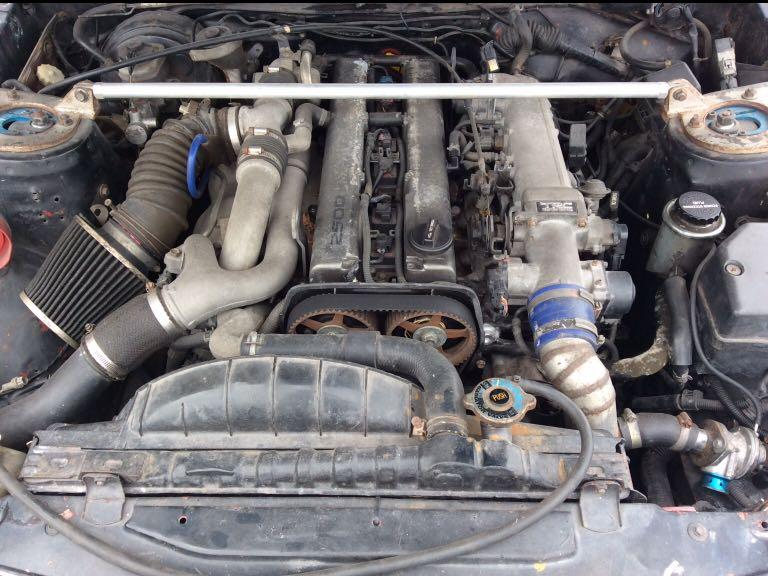 Track car Mercedes-Benz 190E Engine 1JZ Twin Turbo R154 Manual gearbox 280hp