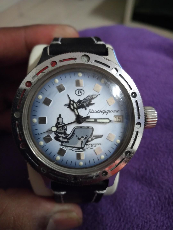 Vostok Komandirskie Russian Military Automatic Watch