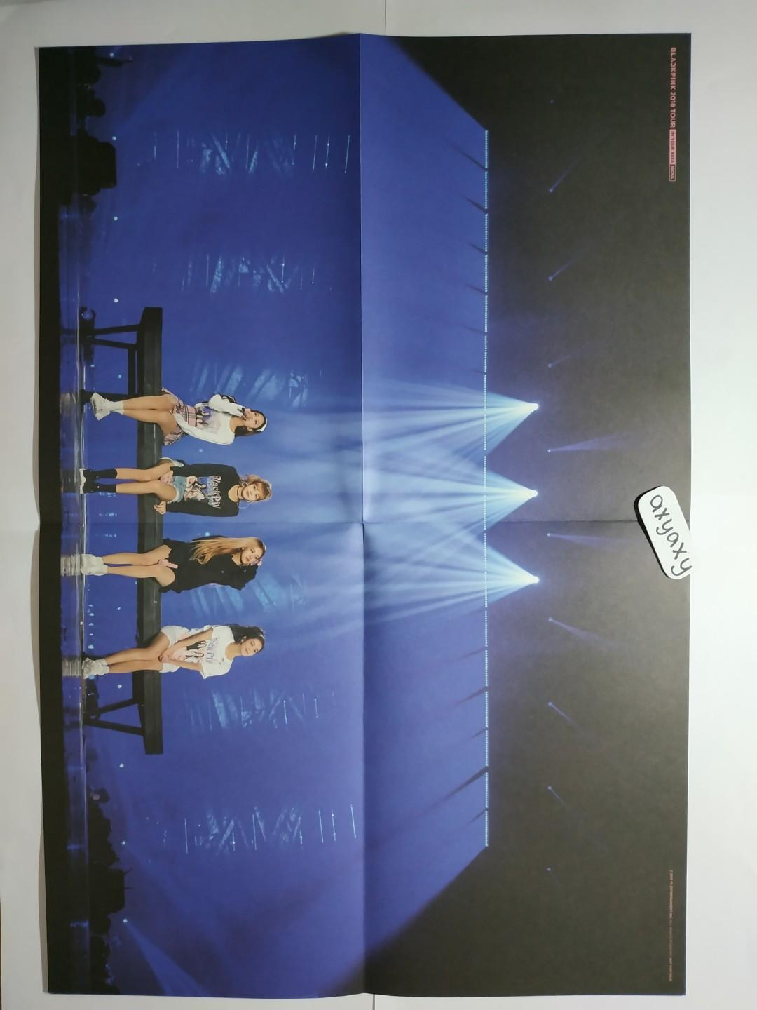 [WTS] BLACKPINK 2018 TOUR 'IN YOUR AREA' SEOUL DVD: Sticker Set + Poster + Post it note