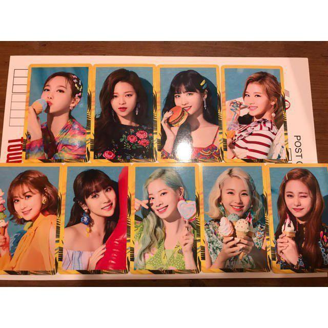 WTS Twice 4th Japan Single Happy Happy Photocard Set