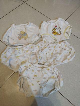 Celana Pop 5pc usia 6bulan ke atas
