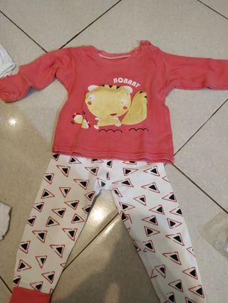 Baju Tidur baby di atas 4 bulan