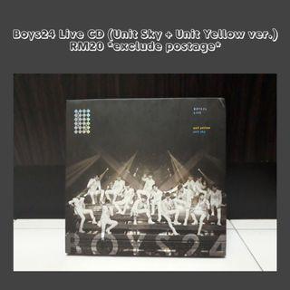 BOYS24 Live CD (Sky & Yellow)