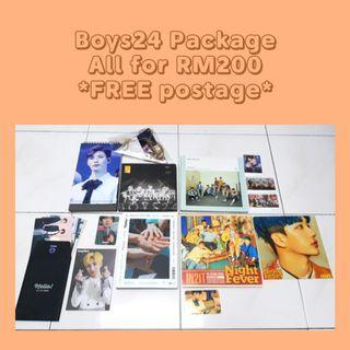 BOYS24 + IN2IT + 1TEAM Package